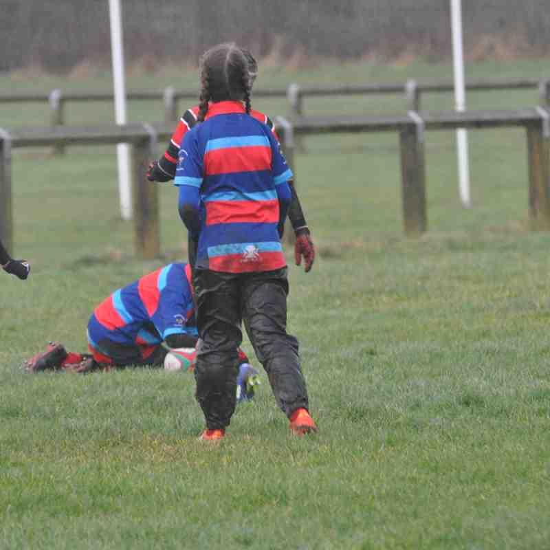 Tigers vs Redcar by Lorraine Storey