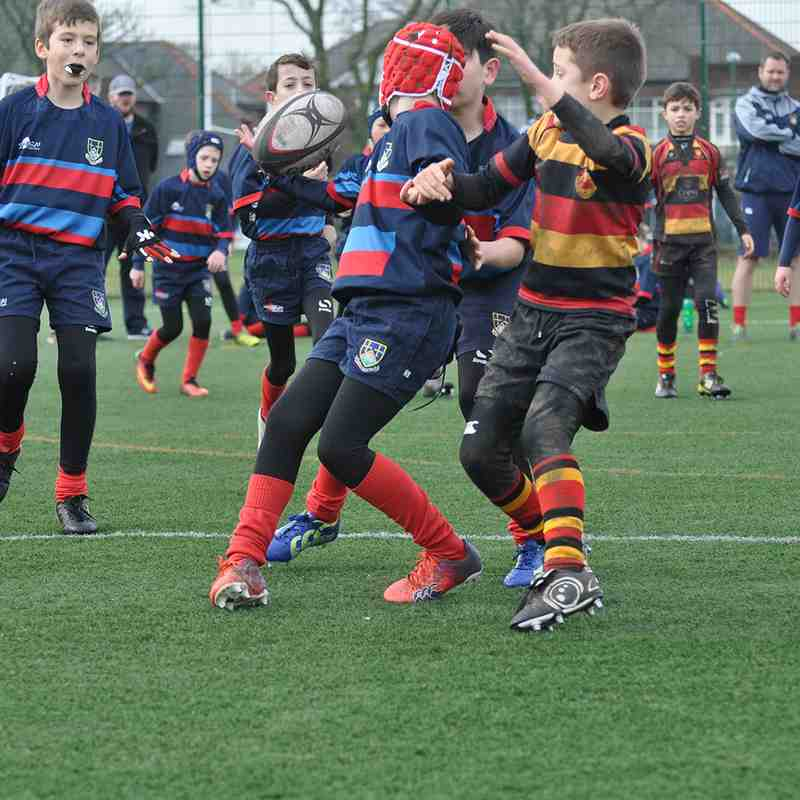 u10s Tigers vs Blaydon and Harrogate by Lorraine Storey pt1