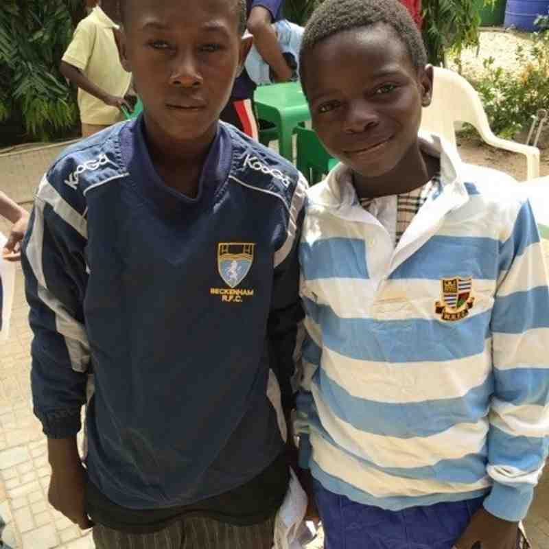 Warlingham Kit Supports Nigeria's Up and Coming Stars