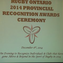 Mark Brown - 2014 Rugby Ontario Male Coach of The Year