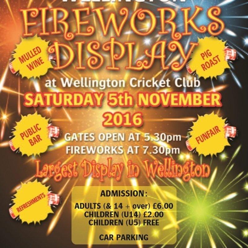 Wellington Fireworks Display