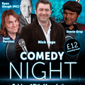 Comedy Night - Friday 17th March