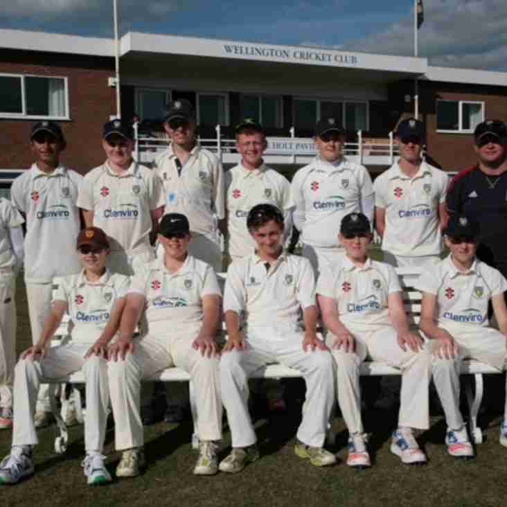 U15s Edged Out In Final