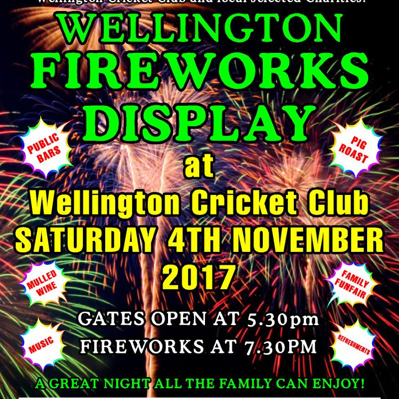 Wellington Fireworks Display