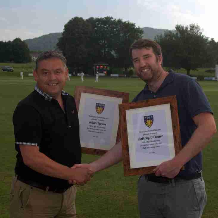 Pair Awarded Life Memberships