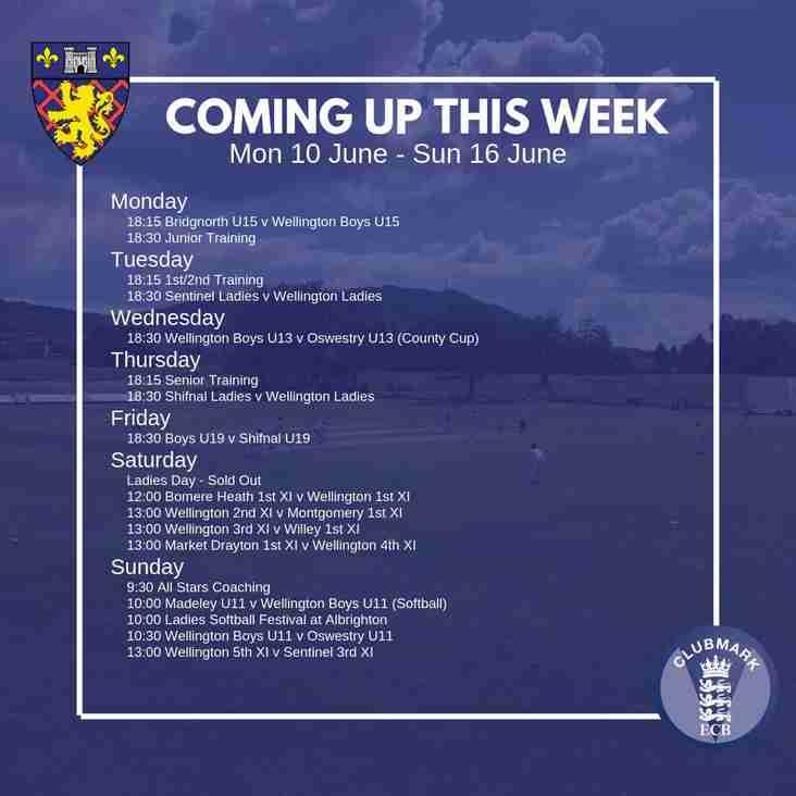 This Week: Ladies' Day, U19 Vitality Blast, U13s In Cup Action