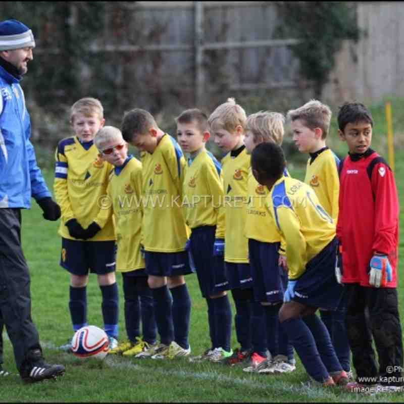 Under 9's v Southall FC 13-1-2013