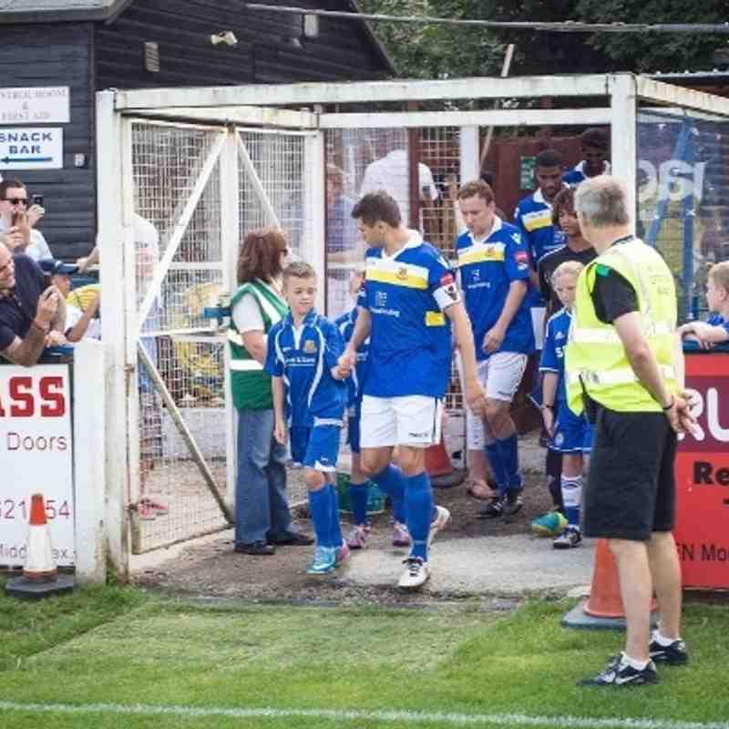 Wealdstone FC v Chelsea U21 (Steve Foster photos)