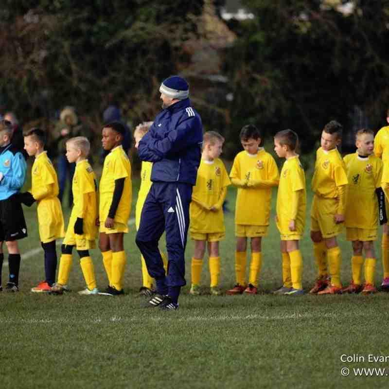 U11a (4) v (2) Parkfield FC 14-12-2014