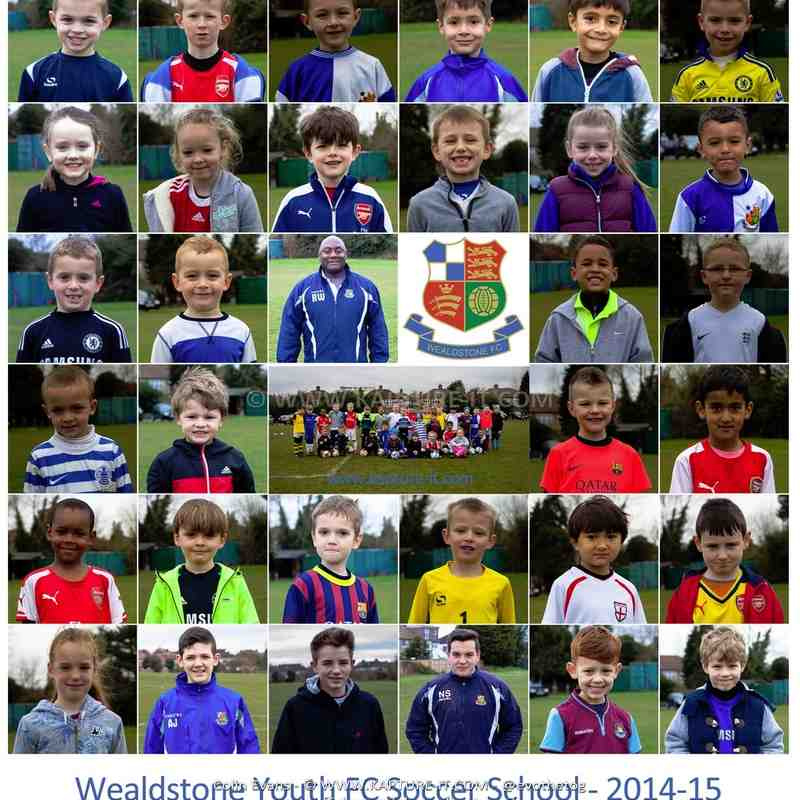 Soccer_School_2014-15 Players