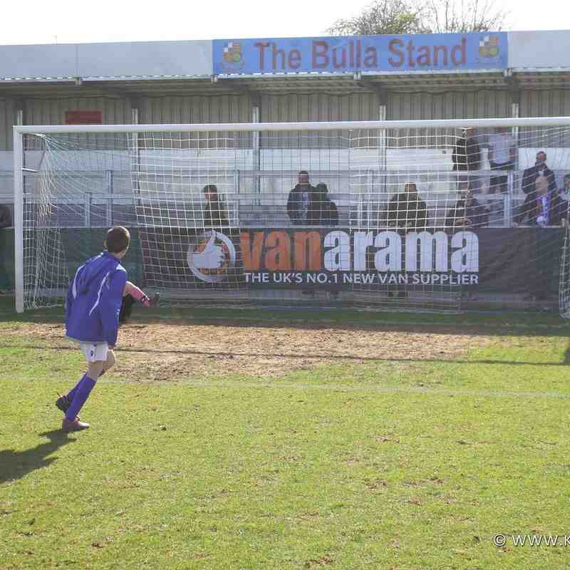 Half-Time penalty shoot-out - Jay Hogg