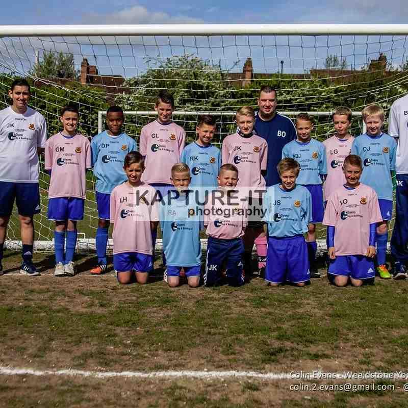 U11a v Parkfield FC - League_Cup_Final May_2015