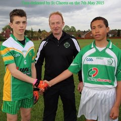 U14 Tara defeated by St Clarets 7-05-2015 at John Billam
