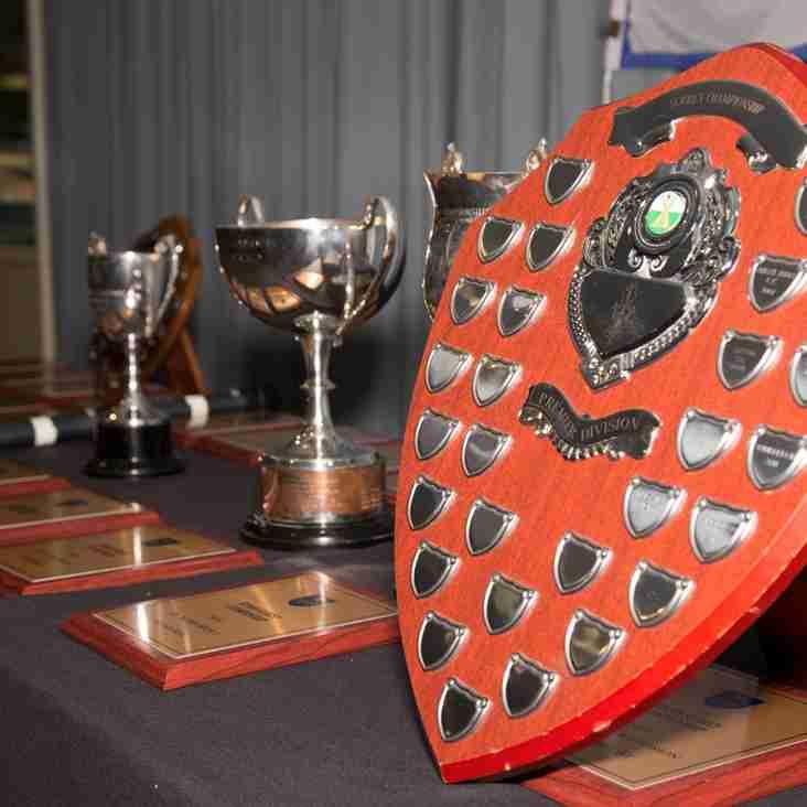 Travelbag Surrey Championship Dinner - Friday 7th October 2016