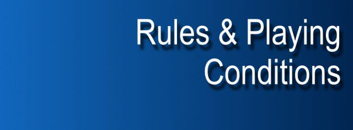 2018 Rules & Playing Conditions