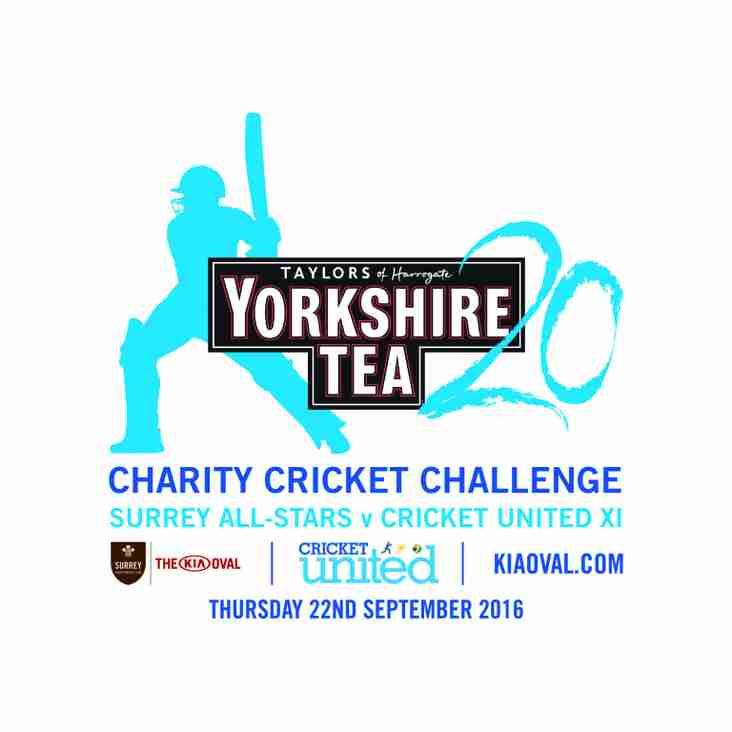 Yorkshire Tea 20 - Thursday 22nd September