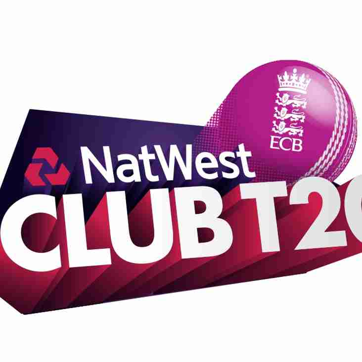 NatWest Club T20 Quarter Final, Sunday 13th August