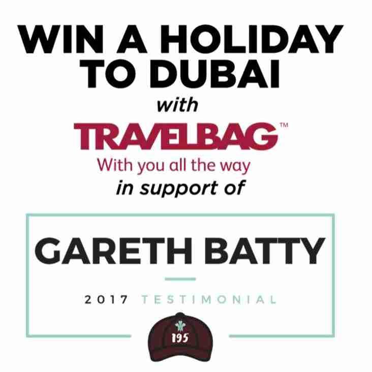 2017 Gareth Batty's Testimonial Raffle