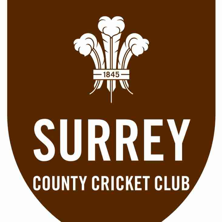 Surrey County Cricket Club partner with the Travelbag Surrey Championship