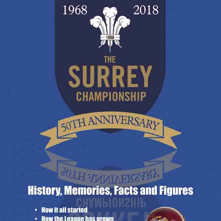 50 Years of Surrey Championship Cricket