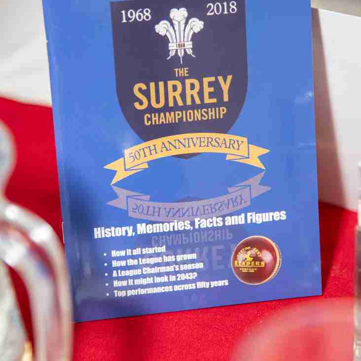 Surrey Championship Annual Awards Dinner Photos
