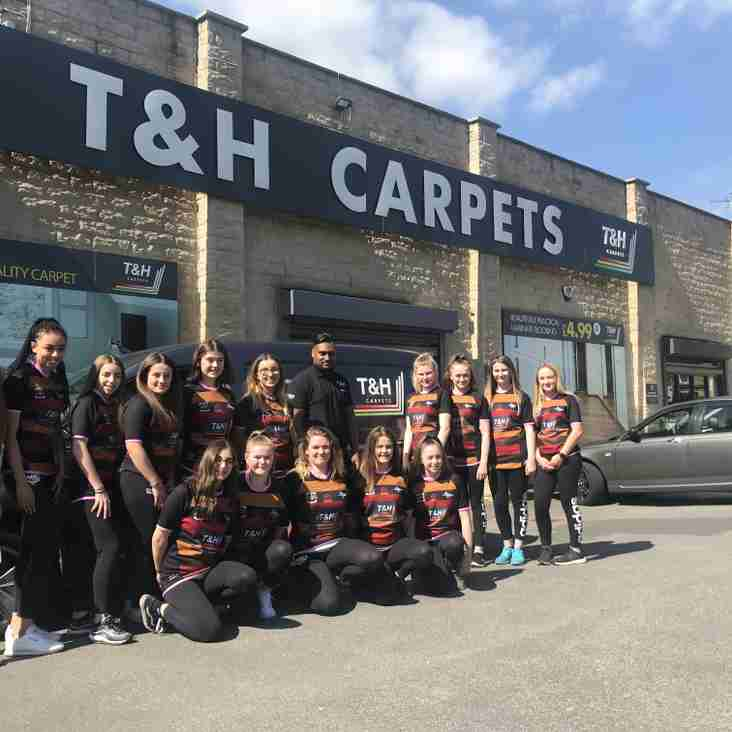 Girls Secure Sponsorship Deal With T&H Carpets