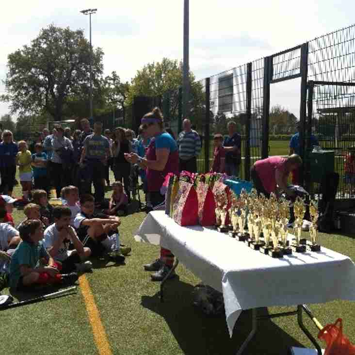 Last Junior Training Session & Awards