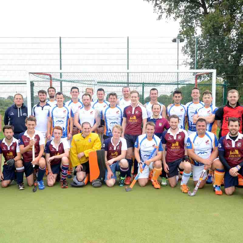 Hockey for Heroes Match - October 2014