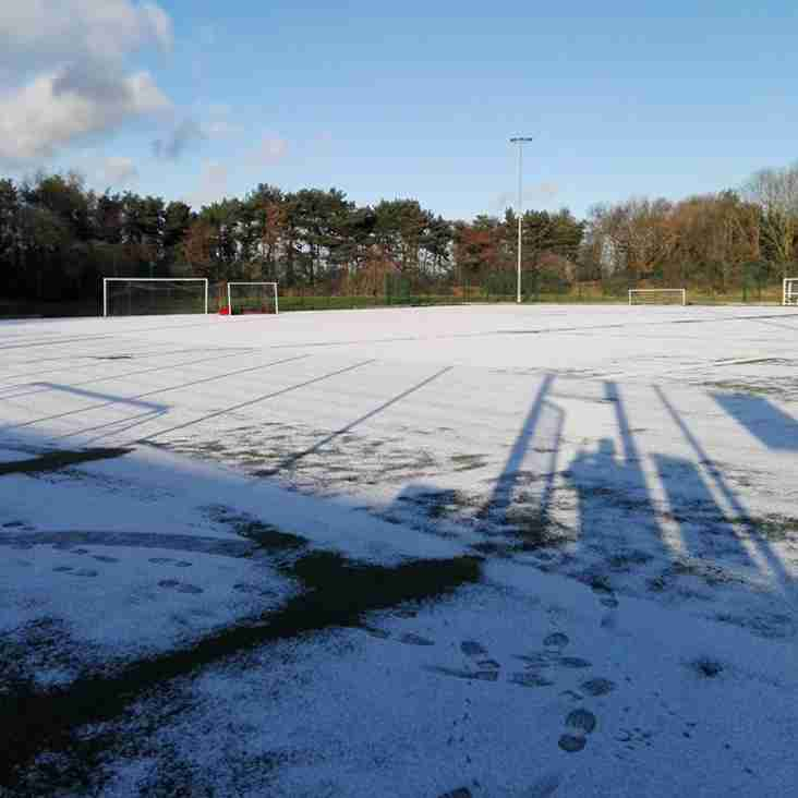 Junior Training on 18th March - Cancelled