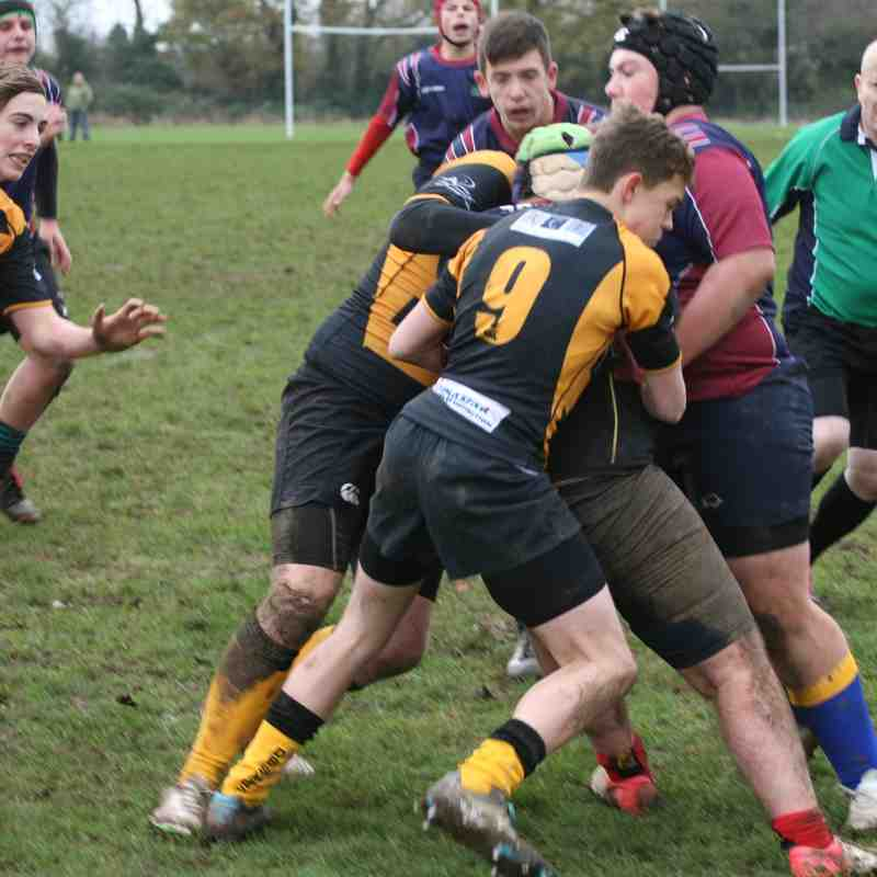 Shelford/Newmarket V Letchworth 29th Nov 2015