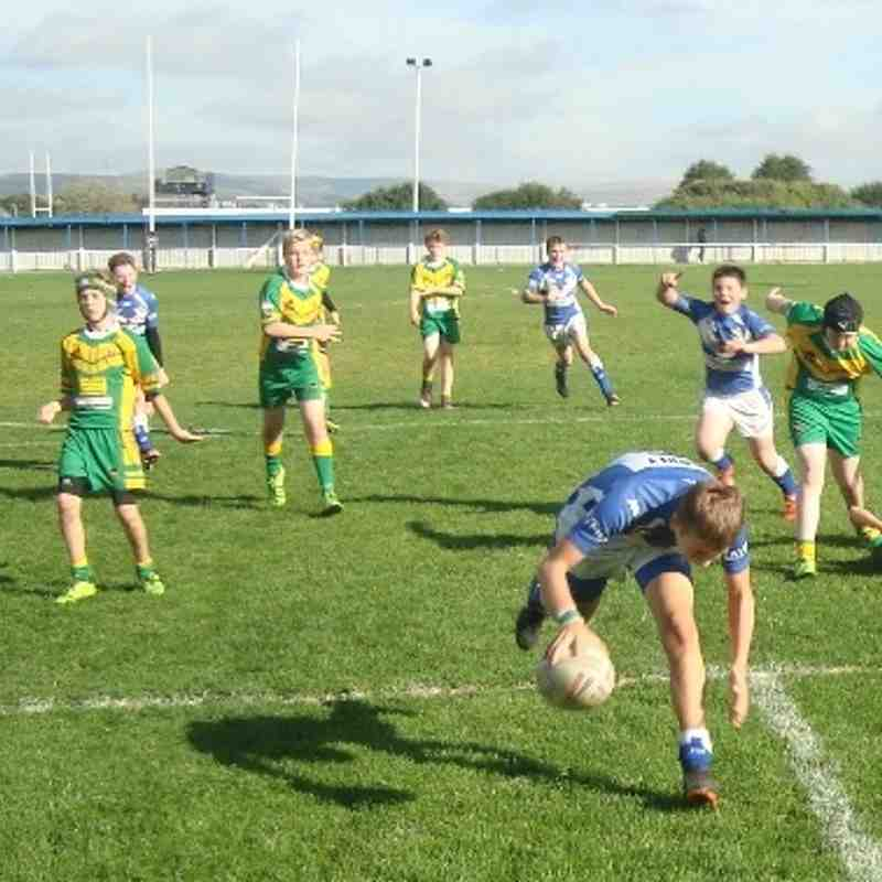 Mustangs U13 v Woolston Oct 13
