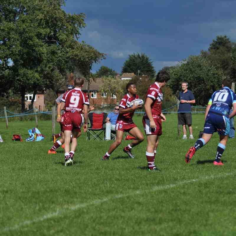 Origin U16's first match-Elmbridge
