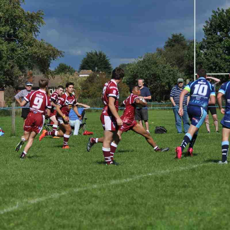 Origin U16's first match-Elmbridge