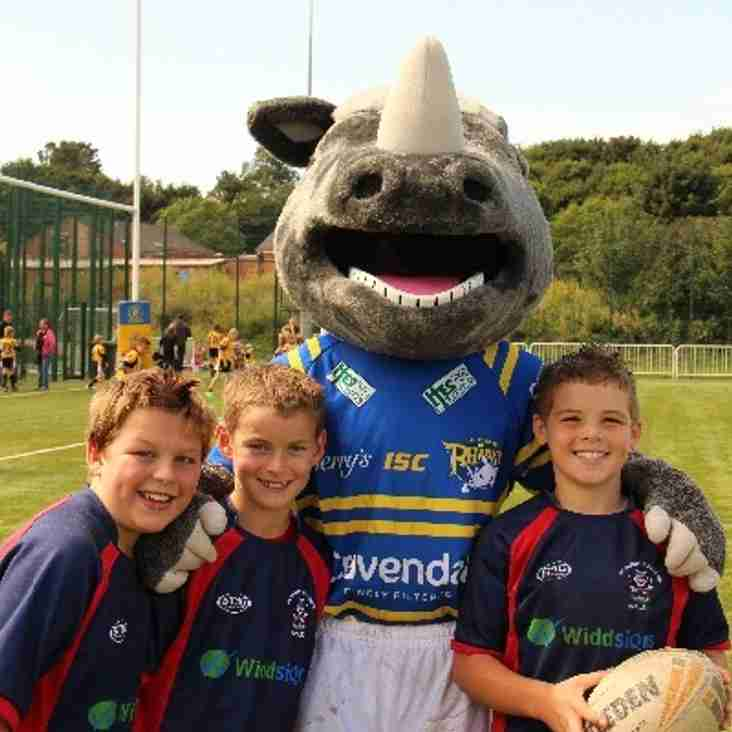 Rhinos Increase Participation in North Yorkshire Community Rugby League Club