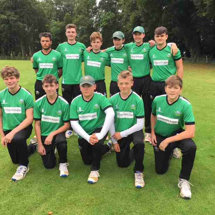 U19s: runners up in county finals