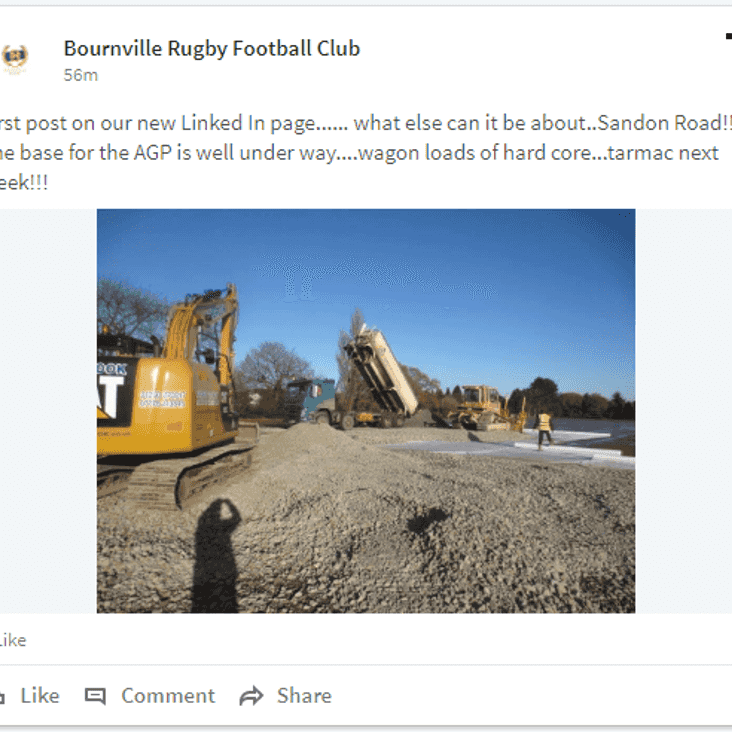 Linking In with Bournville Rugby