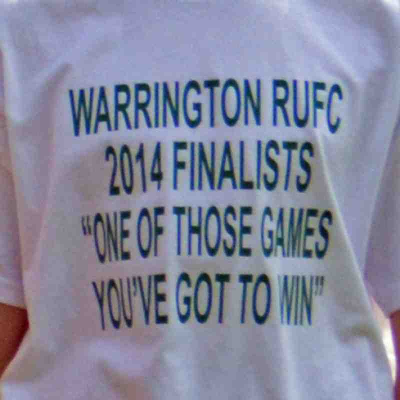 Warrington RU 3rd XV vs Preston Grasshoppers 4ths - Best Bowl Final - 3rd May 2014