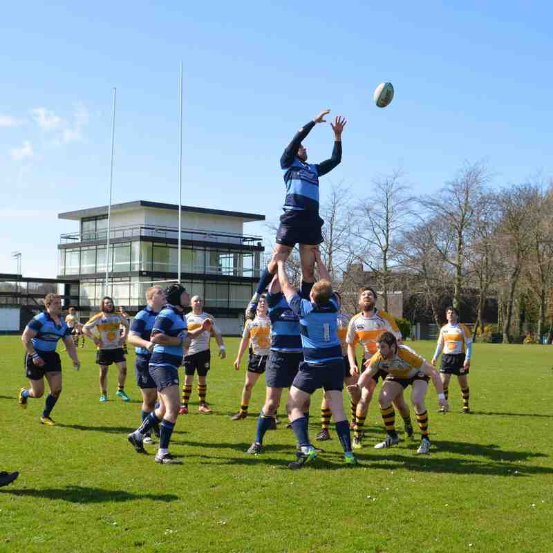 Liverpool Collegiate 1st XV vs Vagabonds I.O.M. (H) 11/04/2015