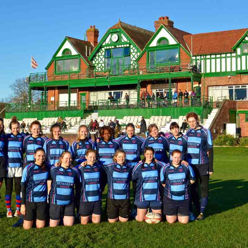 Liverpool Collegiate Ladies vs Sefton Panthers (H) 22/11/15