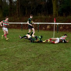Warrington RUFC 1st XV vs St Benedict's (H) 07/01/2017