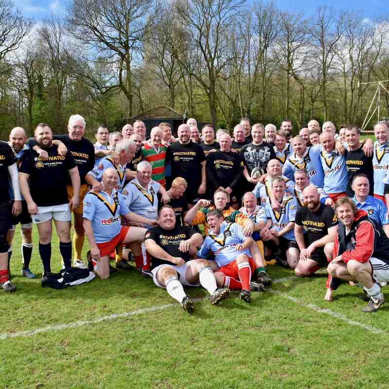 The Battle for Granticus - Warrington RU vs Crosfields RL (Over 35's) 01/04/17