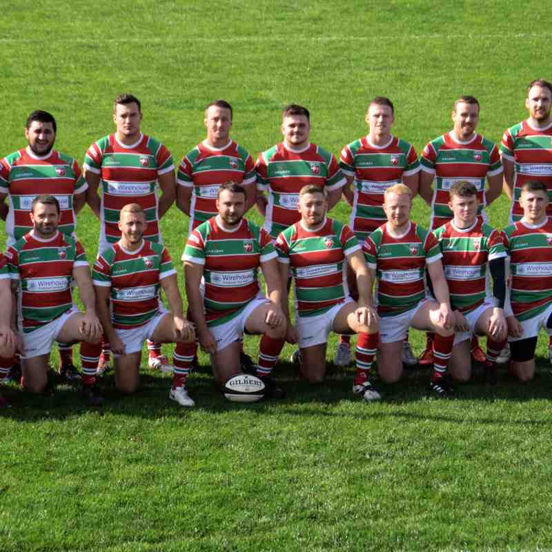 Warrington 1st XV Team Photos 2018/19