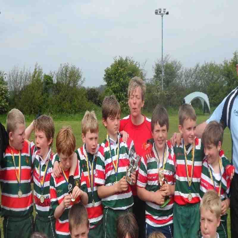 dinington festival  under 9,s plate winners