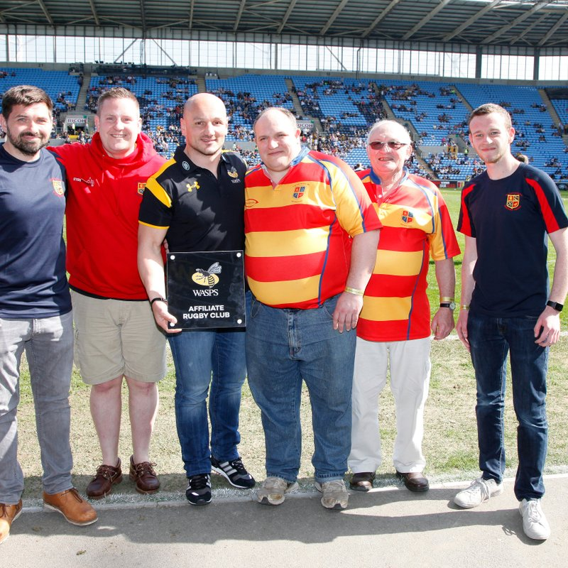Old Salts at Wasps RFC - Take over day.