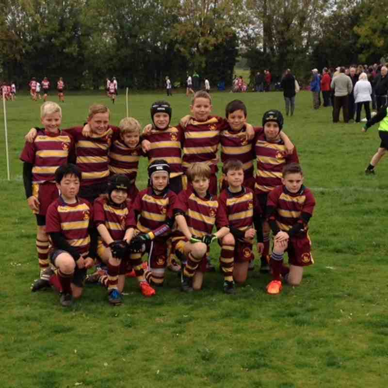 Malvern Under 10s at the 2015 Dursley Festival