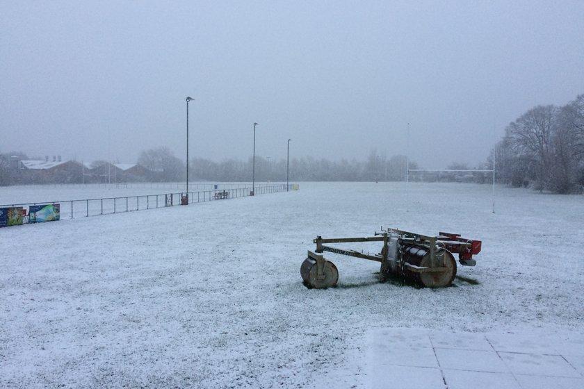 It's Snowing.... Again...