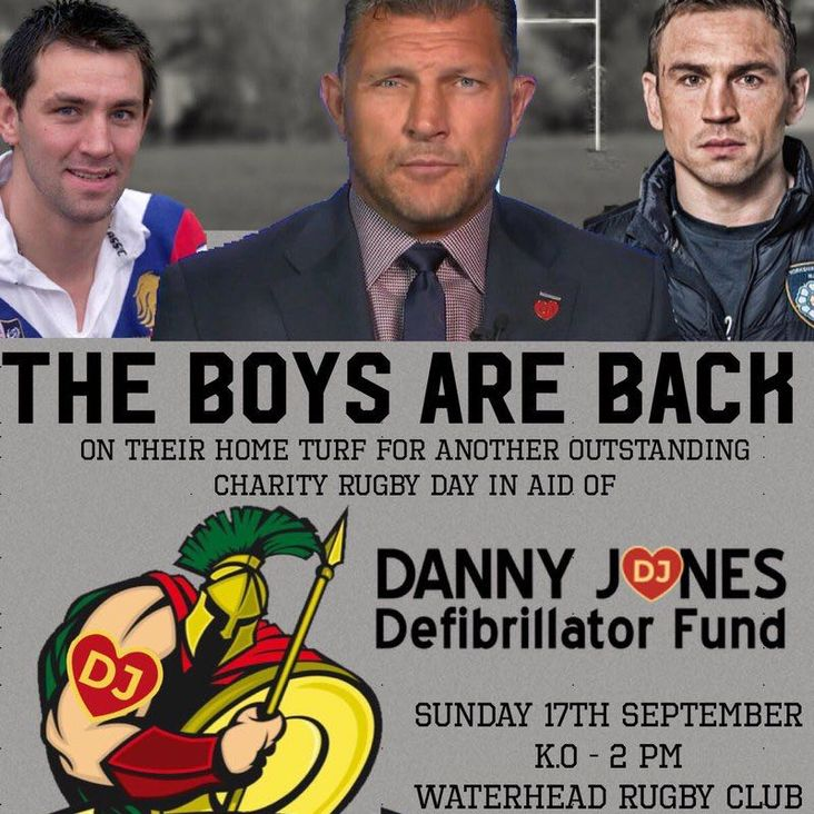 Siddal to Take Part in Danny Jones Defibrillator Fundraiser<
