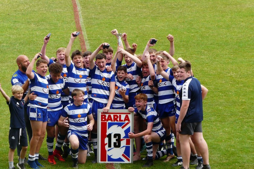 Siddal Under 14's are National Champions