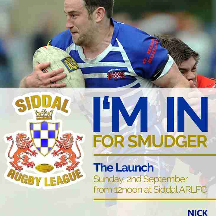 """Launch of """"I'm in for Smudger"""" Campaign"""