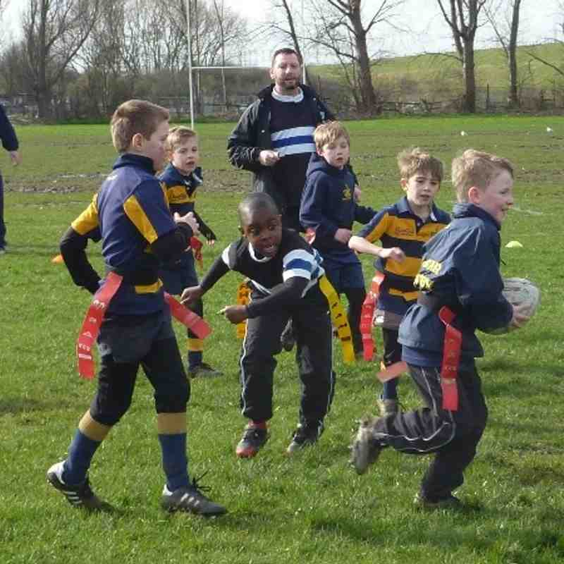 under 8's against Ongar SUN 2nd March